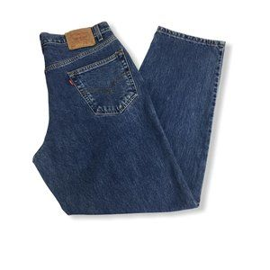 Levis Vintage 90s 550 Relaxed Fit Mom Jeans 36X30